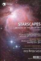 Brochure of the Starscapes I exhibition