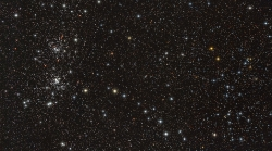 The Double Cluster and Stock 2 in Perseus