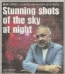Southern Daily Echo Article regarding Starscapes 2 Exhibition - Cover
