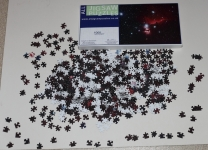 1,000 piece jigsaw of the Horsehead Nebula