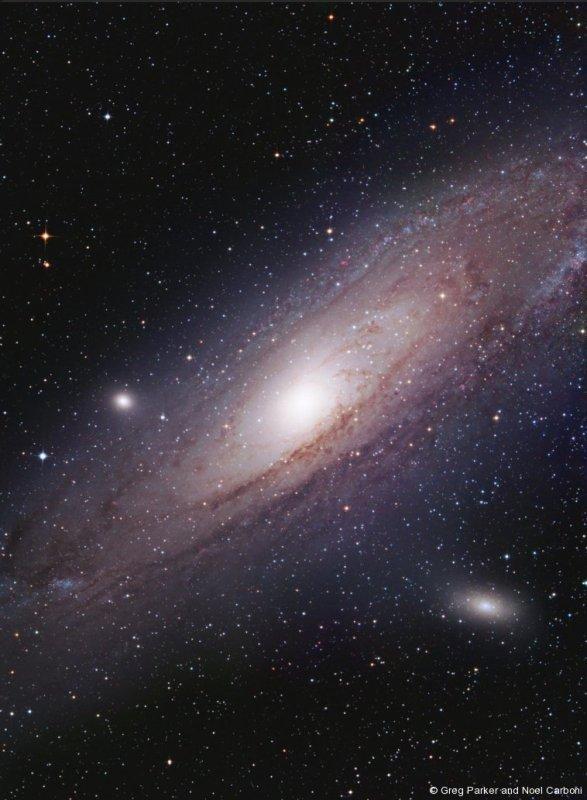 M31 4-frame Hyperstar mosaic