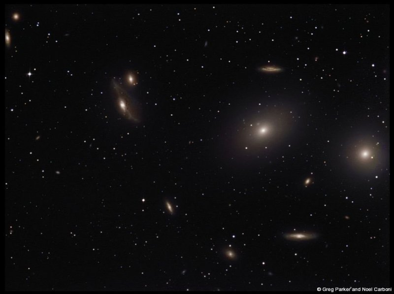 The end of the Markarian chain