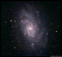 M33 the Triangulum galaxy