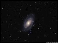 M81 - Bode's galaxy in Ursa Major
