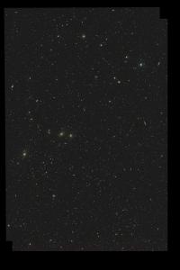 Virgo/Coma cluster 200mm lens