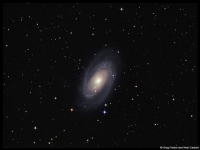 M81 - Bode's galaxy in Ursa Major