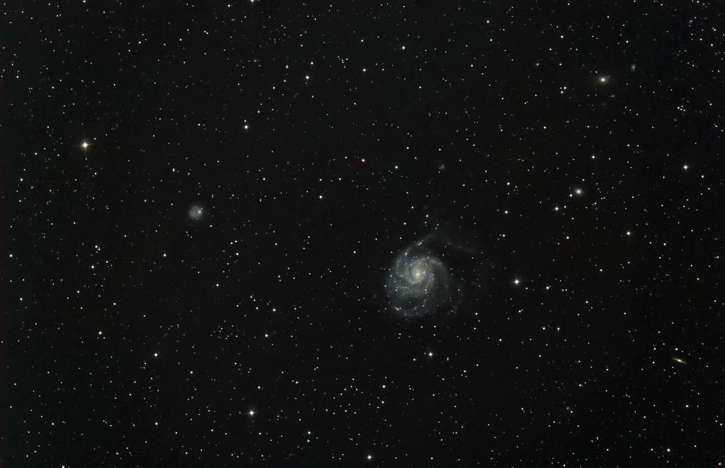 M101 double dataset