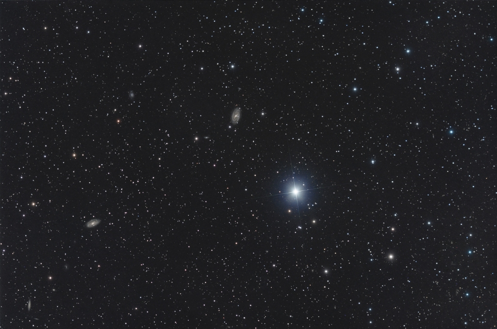 Phecda and M109 in Ursa Major