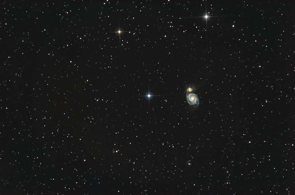 M51 composite Hyperstar image