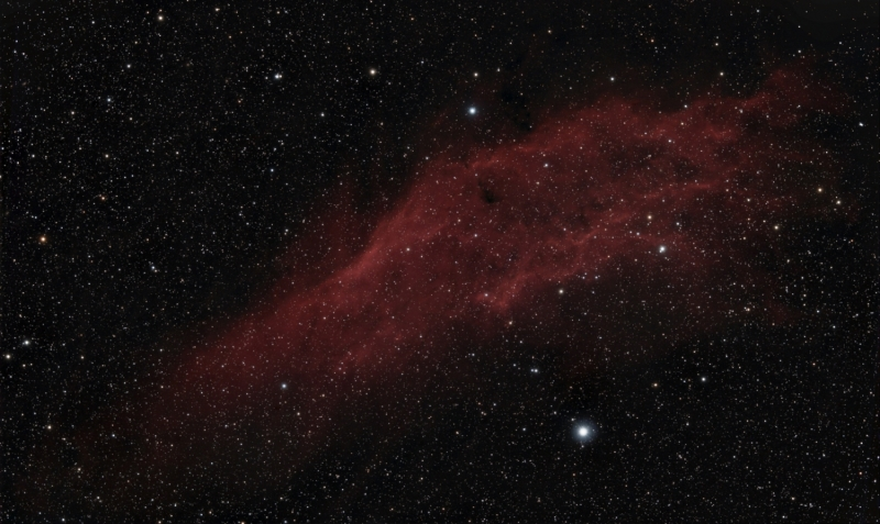 California nebula 13/12/2014