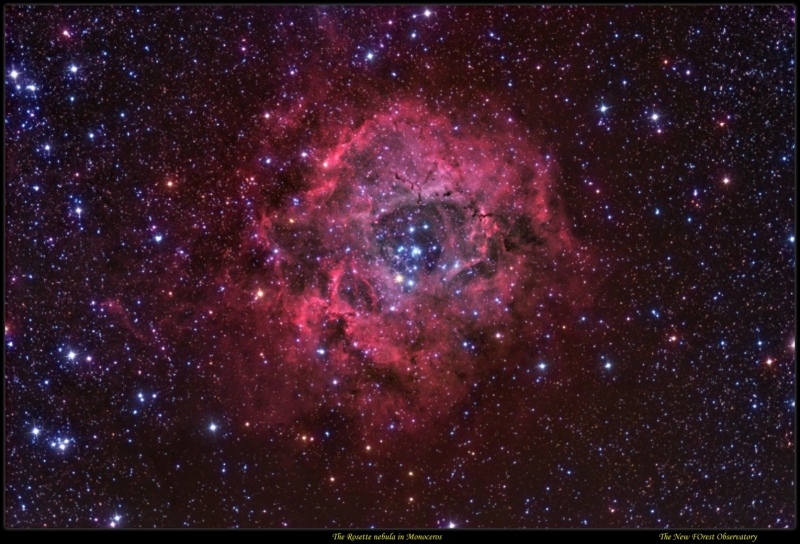 Rosette nebula desktop/screensaver