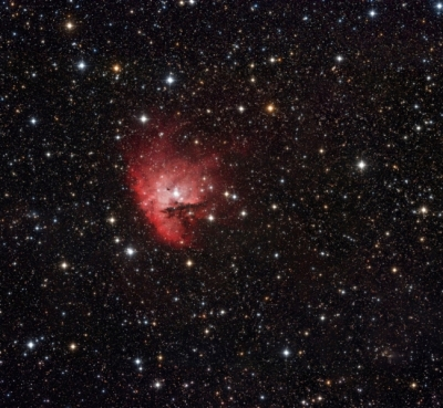 PacMan nebula reloaded
