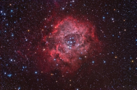 Rosette nebula all data