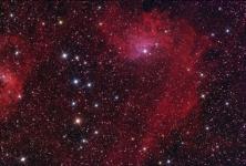 Flaming Star nebula in Auriga