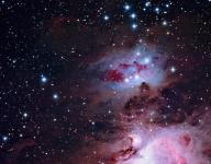 Running Man nebula bigger crop