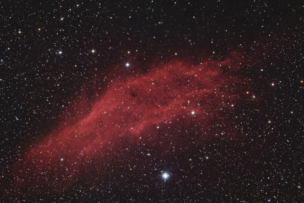 California nebula in RGB