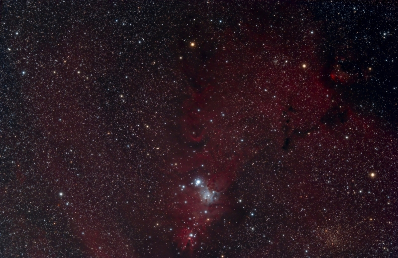 Cone nebula December 2014