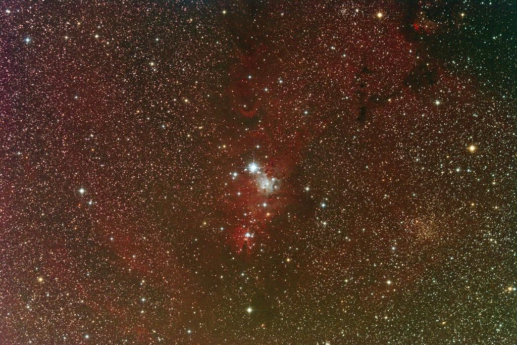 Cone nebula 12 subs 10-minutes per sub