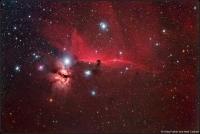Widefield Horsehead Nebula