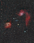 IC405.IC410 region in Auriga with the mini-WASP