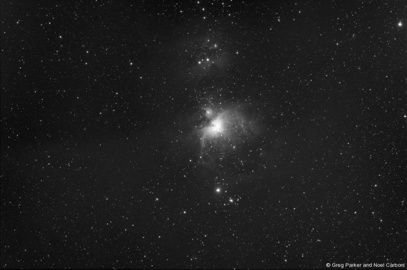 M42 in the infrared