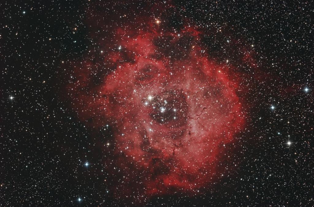 Rosette nebula HSIII