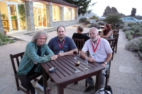 Brian May Alex Cherney and Greg Parker