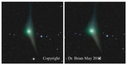Comet Garradd stereo image