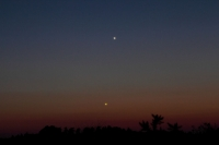 Jupiter and Mercury March 18th 2011