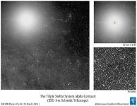 Centauri A/B/Proxima by ESO