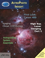 M42 widefield shown on the Cover of AstroPhoto Imaging Magazine