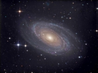 M81 by Curdridge Observatory and New Forest Observatory