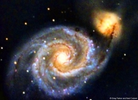 Messier 51 @ f#6.3