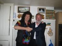 Greg Parker and Brian May