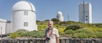 Greg Parker at the Teide Observatories