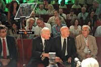 Jim Lovell and Alexei Leonov at the Starmus Festival