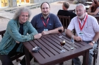Brian May, Alex Cherney and Greg Parker