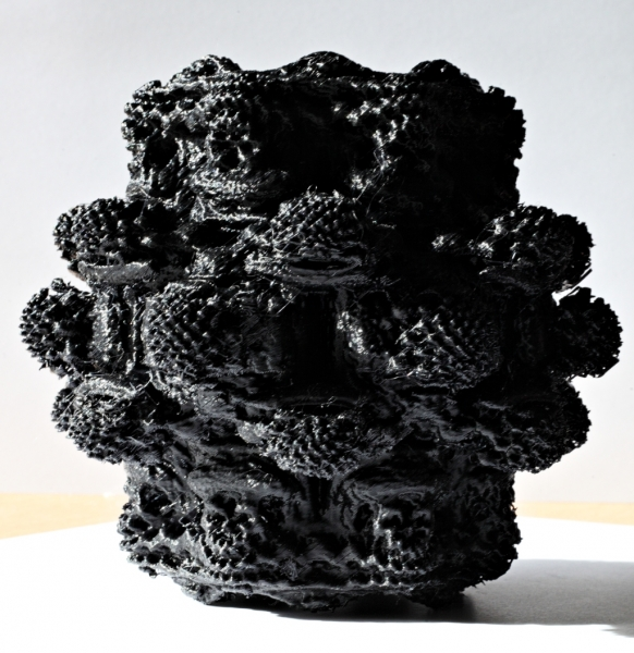 Mandelbulb 3D printed | New Forest Observatory ®