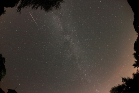 Colourful Perseid