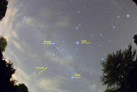 Summer Triangle Annotated
