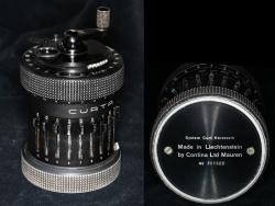Type II black Curta calculator