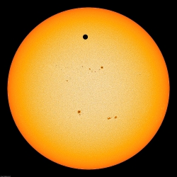 Mid-transit Venus June 2012