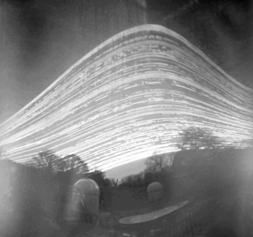 Really big pinhole camera solragraph