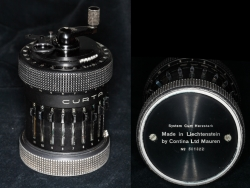 Type II black Curta calculator