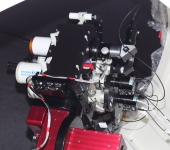 Both M26C cameras on the mini-WASP framework