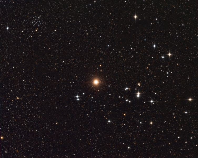 Aldebaran, the Hyades & NGC1647 | New Forest Observatory