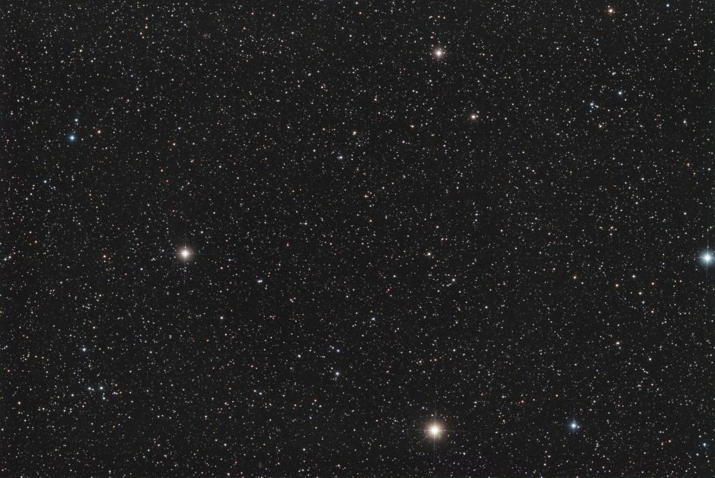 Perseus star field