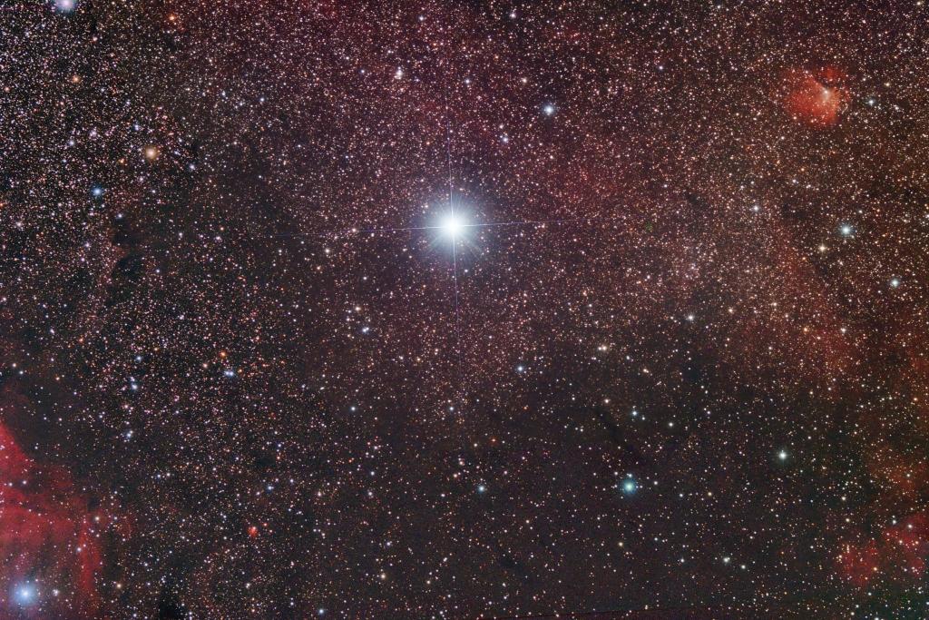 The Deneb region in Cygnus