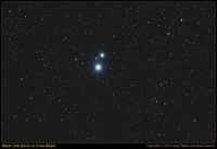Mizar and Alcor in Ursa Major
