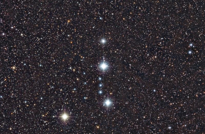 The Meissa region in Orion